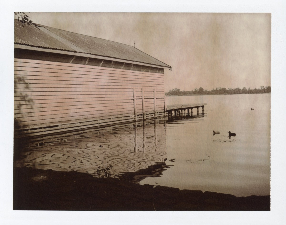 Lake Wendouree | Polaroid 100 | Chocolate film
