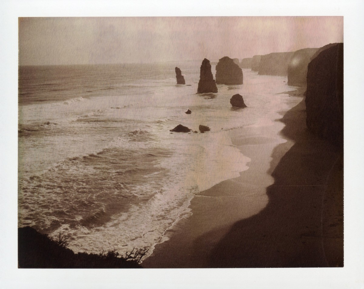 Twelve Apostles, Great Ocean Road | Polaroid 220 | Polaroid Chocolate