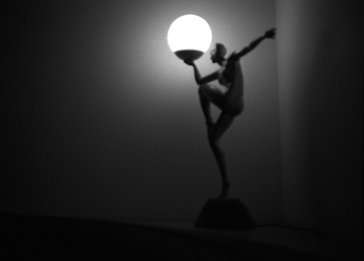 Art in lamp form | Olympus XA | Fujifilm Neopan 400